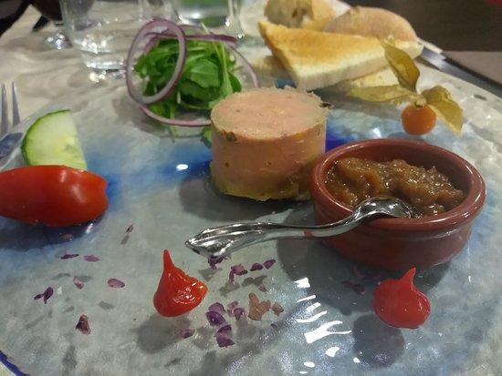 Pénestin, Francia: Foie gras