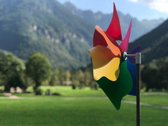 Sonogno, Schweiz: Vista dalla terraza