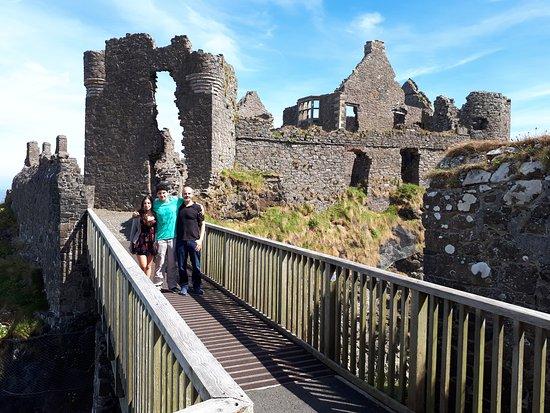 Dunluce Castle: A ponte