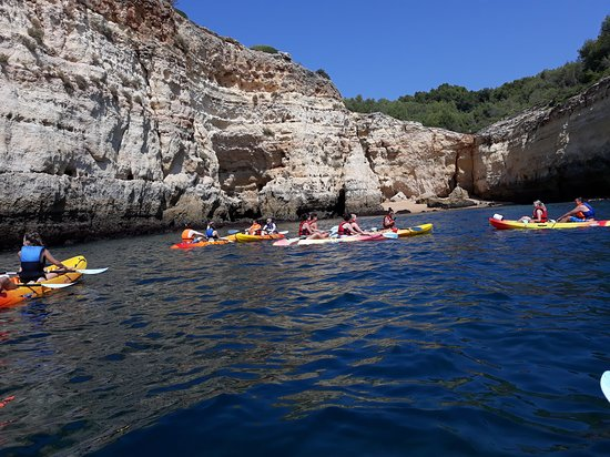 Benagil, Portugal: Kayak tour