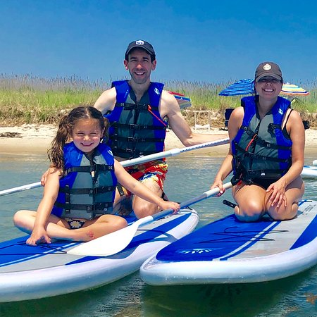 East Moriches, NY: Family Paddles!