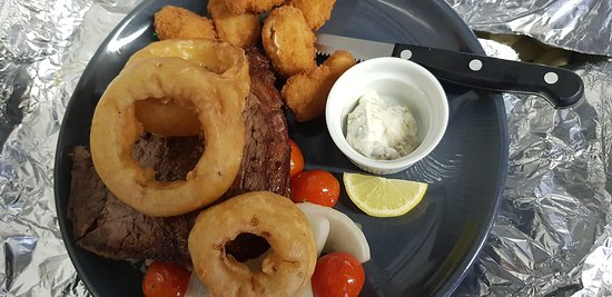 Cleator, UK: Surf and turf