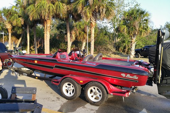 Melbourne Beach, Floride : Bassboat, airboats, great bass fishing