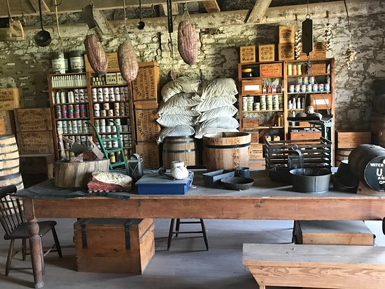 Fort Larned National Historic Site: Sutler's store