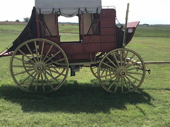Larned, KS: A stagecoach
