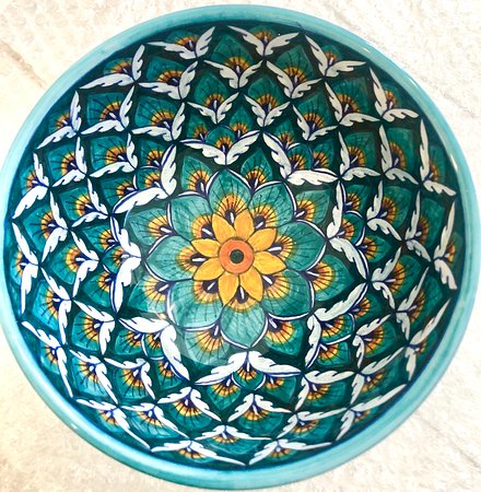 Greytown, New Zealand: Handpainted bowl