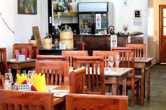 Quinta de Tilcoco, ชิลี: Nuestro restaurante por dentro.