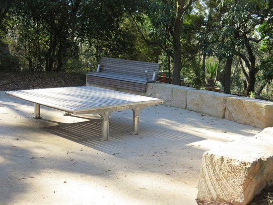 Sutherland, ออสเตรเลีย: Picnic area, Joseph Banks Native Plants reserve