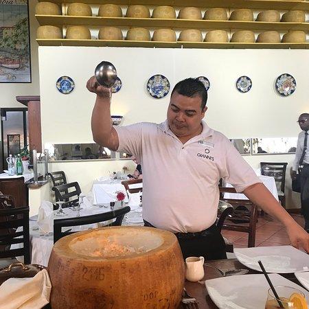 Italian Lunch in Aruba