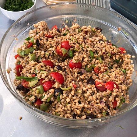 Cucina della Terra: Farro Salad