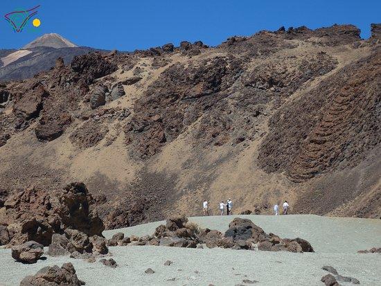 Llano del Moro, Hiszpania: Exploring Mt Teide
