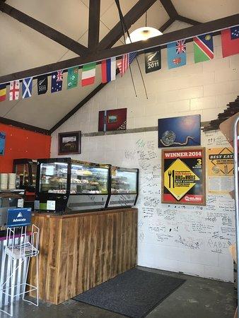 Lumsden, Nouvelle-Zélande : Unusual decor!