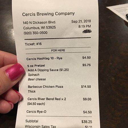 Снимок Cercis Brewing Company
