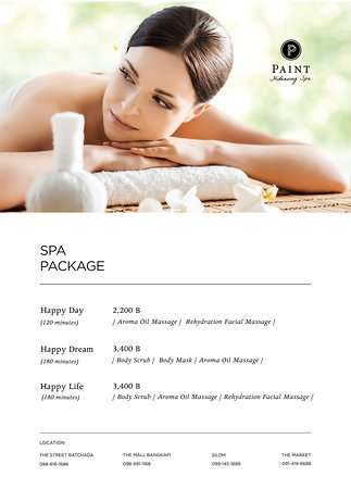 Paint Hideaway Spa : Silom Branch