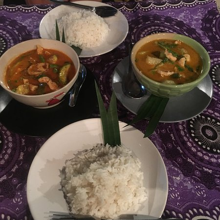 The most amazing Thai curries I have EVER had!