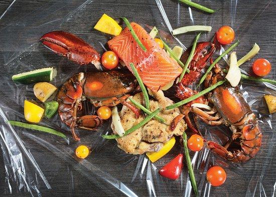 Lobby Lounge (Marco Polo Hongkong Hotel): En Papillote Healthy Gourmet