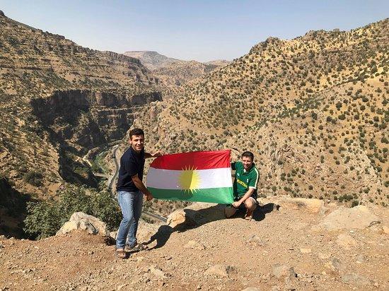Great time in Iraqi Kurdistan with my tour guide Karwan Wahed