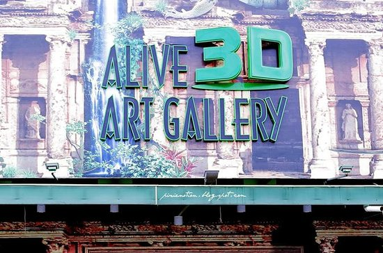 Alive 3D Art Gallery入場券