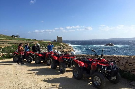 Halbtagesausflug mit dem Quad in Gozo