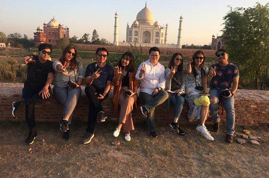 2 días de la noche Taj Mahl Tour
