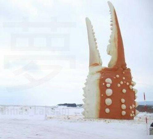Monbetsu, Japan: Crab Claw Statue_Dimas Laksani_large.jpg
