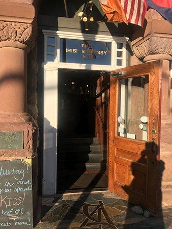 The Irish Embassy Pub: Street view