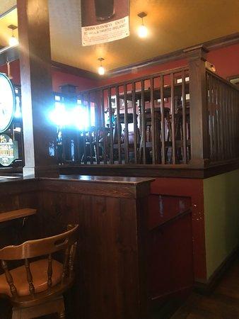The Irish Embassy Pub: Dining loft