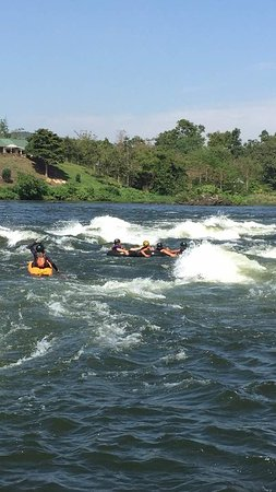 Tubing the Nile
