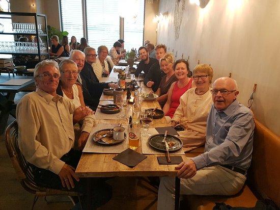 Levanger, Noruega: Bursdags feiring