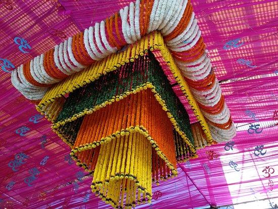 Shree Siddhivinayak: Flower Decoration - Ganesh Chaturthi