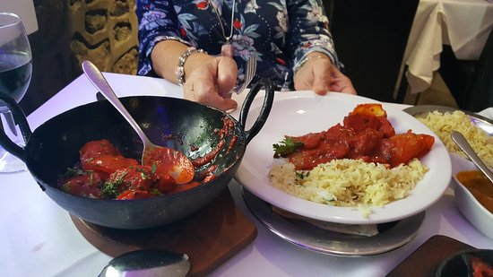 Llanymynech, UK: sizzling meal