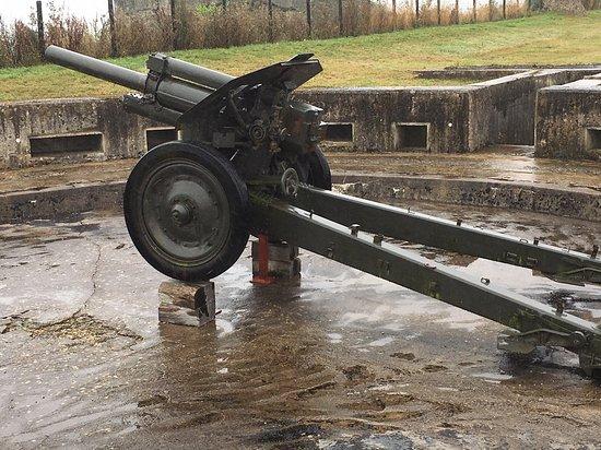 Saint-Marcouf, ฝรั่งเศส: Gun emplacement