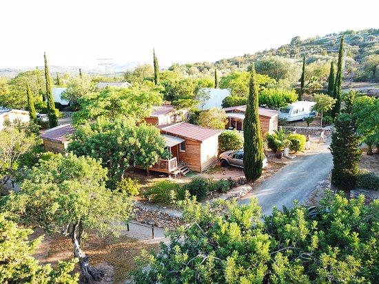 Càlig, España: vue camping