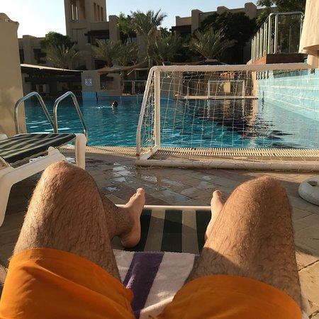 Night stop at Holiday Inn Dead Sea