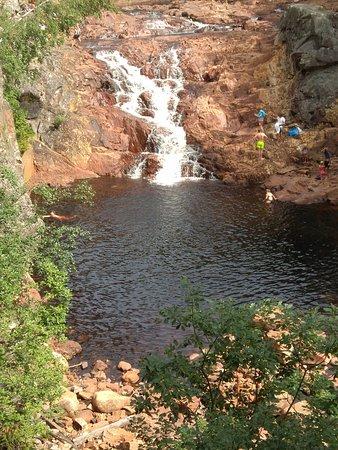 Eksharad, Szwecja: Becken unterhalb