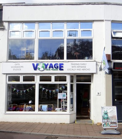 Teignmouth, UK: Our Shop Front
