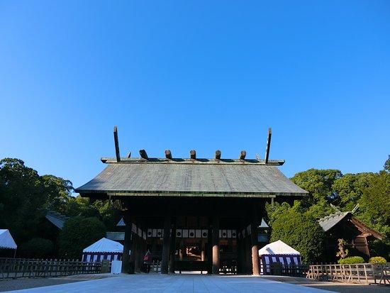 Miyazaki, Japan: 宮崎神宮外觀