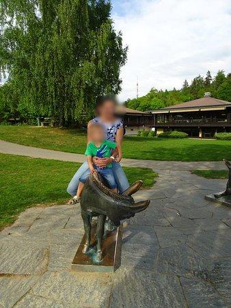 Bougy-Villars, สวิตเซอร์แลนด์: Pré vert park.