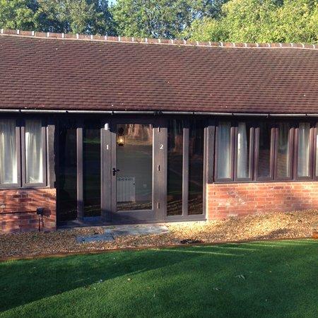 Barton's Mill: Courtyard Entrance to rooms 1 & 2