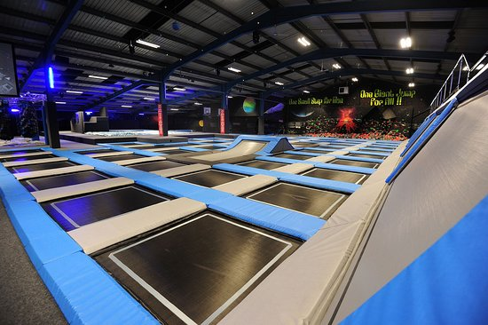 ‪The Jump Works Trampoline park‬