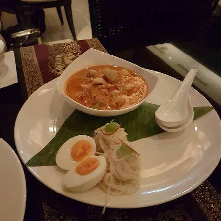 Special dinner at Saffron