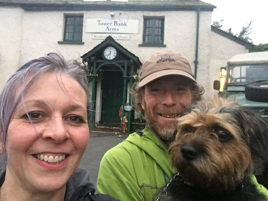 Near Sawrey, UK: Walkers and dogs most welcome