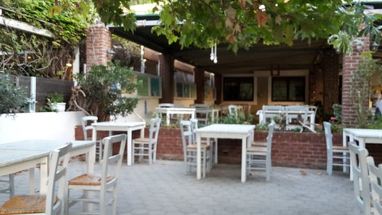 Πήλιο, Ελλάδα: Außenterrasse