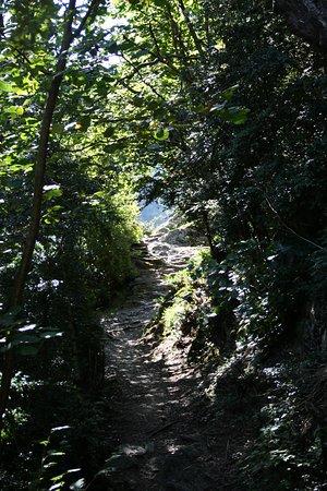 Meritxell, Andorre : Un sentier offrant de jolies perspectives.
