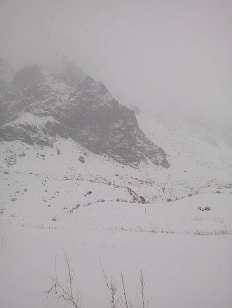 Refugio de Montana Mundo Perdido Foto