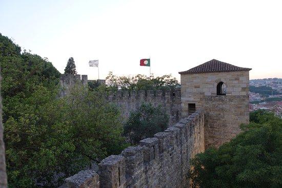 Castelo de Sao Jorge : Wall