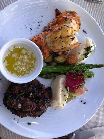 La Roca: Beef Filet & Lobster