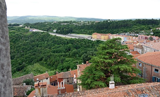 Labin, Croatia: виды сверху