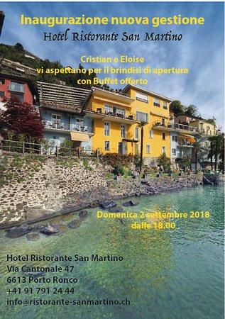 Porto Ronco, สวิตเซอร์แลนด์: Nuova Gestione!!! Vi Aspettiamo