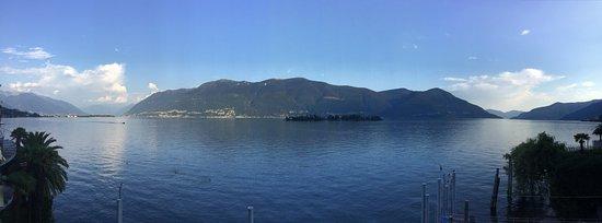 Porto Ronco, สวิตเซอร์แลนด์: La nostra imperdibile vista ad un passo dal lago